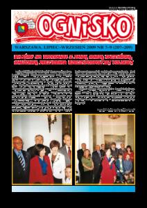 """""""Ognisko"""" 2009/7-9"""