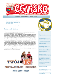 """""""Ognisko"""" 2014/10-2015/3"""