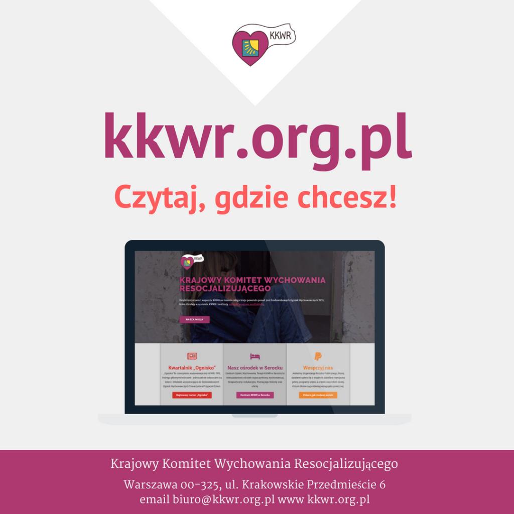 Nowa strona KKWR – czytaj, gdzie chcesz!
