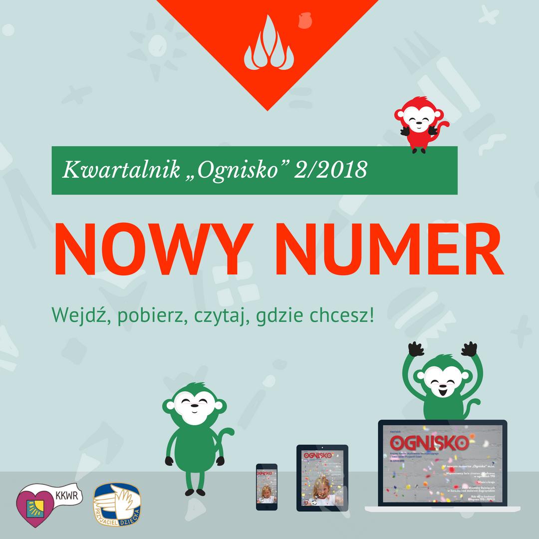 "Kwartalnik ""Ognisko"" nr 2/2018 • KKWR"